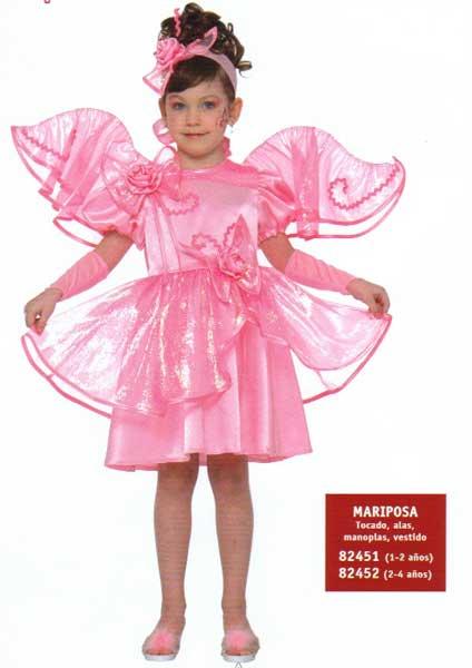 disfraz halloween nia carnaval mariposa