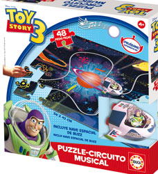 14688 PUZZLE CIRCUITO MUSICAL TOY STORY 3