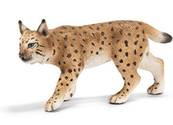 ANIMALES SCHLEICH 14627 LINCE HEMBRA