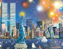 PUZZLE SUNSOUT 56201 FUEGOS ARTIFICIALES EN MANHATTAN