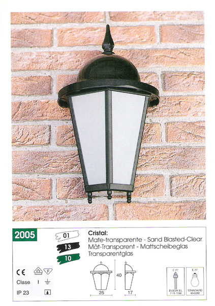Iluminaci n exterior vidal for Precios iluminacion exterior